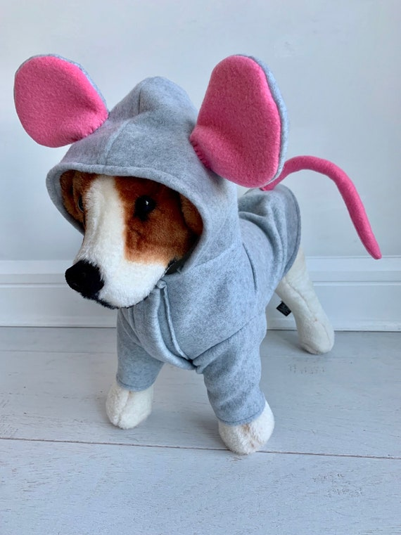 Mouse Costume Dog Halloween Costume Rat Costume Ratatouille Etsy