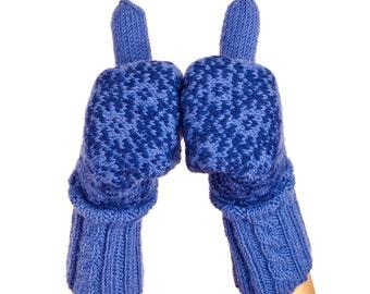 Estonian Mittens in Muhu Island Design. Winter Mittens Wool Mittens Merino mittens Warm Gloves