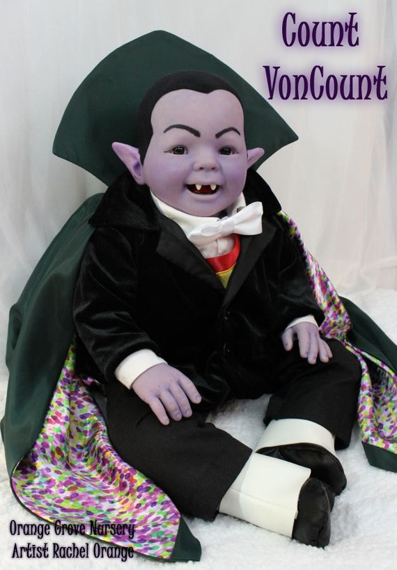 Items Similar To Count Von Count Sesame Street Character