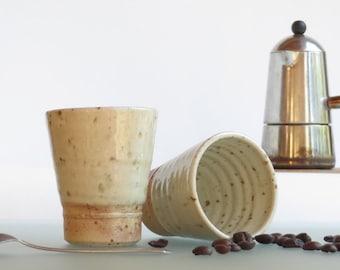 Coffee cup ceramic espresso tumbler ceramic cup shot glass cups for italian coffee or tea small coffee espresso mug gift for coffee lovers