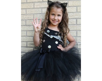 Black Tutu Skirt, Girls Black Tutu