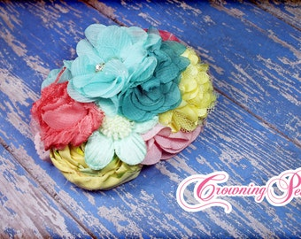 Aqua, Coral, Yellow, Pink Hair Accessory, M2M Hello Lovely, Matilda Jane Headband, Made Match Amazing Things Top, Turquoise, Mint Hair Clip
