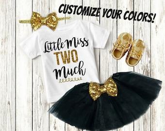 2 Year Old Birthday Girl, Custom Birthday Shirt, Clothes, Clothing, Second Birthday Girl, 2nd Birthday Girl Outfit - SHIRT ONLY