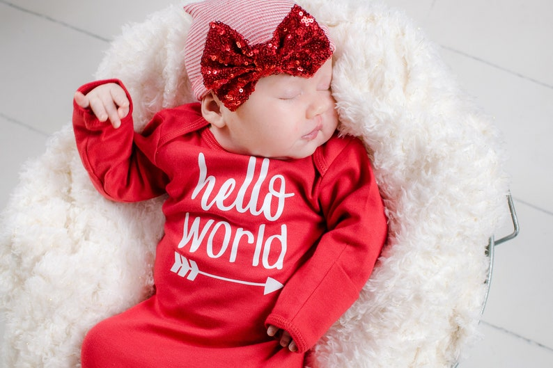 e0be43012 Baby Girl Valentines Day Outfit Newborn Girl Coming Home   Etsy
