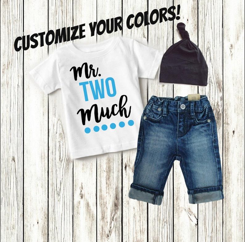 2nd Birthday Boy Shirt Second
