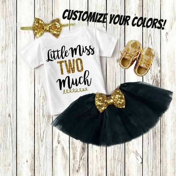 2 Year Old Birthday Girl Custom Birthday Shirt Clothes | Etsy