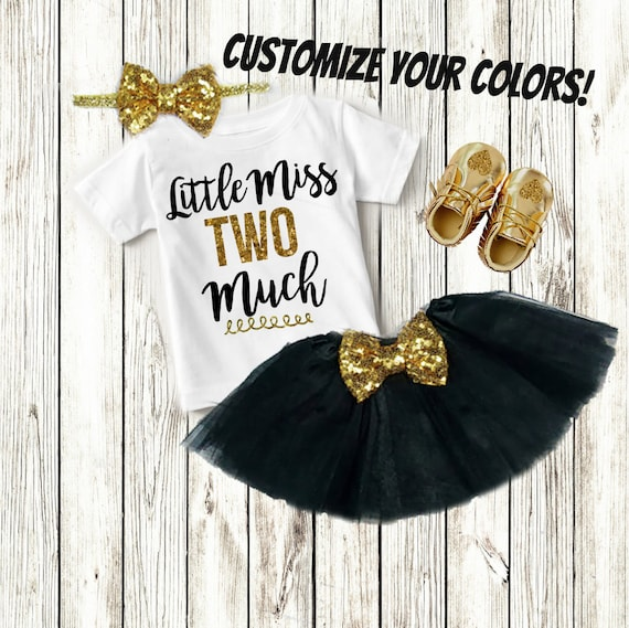2 Year Old Birthday Girl Custom Shirt Clothes