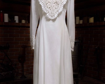 2992f3bf4e3 Jessica McClintock BRIDAL ~ Vintage WEDDING Dress ~ Sheer