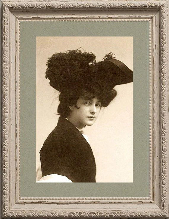 Evelyn Nesbit With A Polar Bear New 4x6 Vintage Image Photo Print EN02