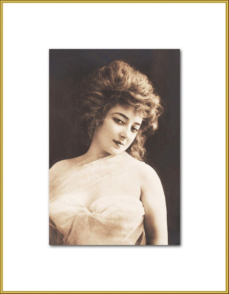 Actress Anna Held New 4x6 Vintage Postcard Image Photo Print AH06