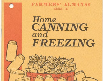 Home Canning and Freezing 1975