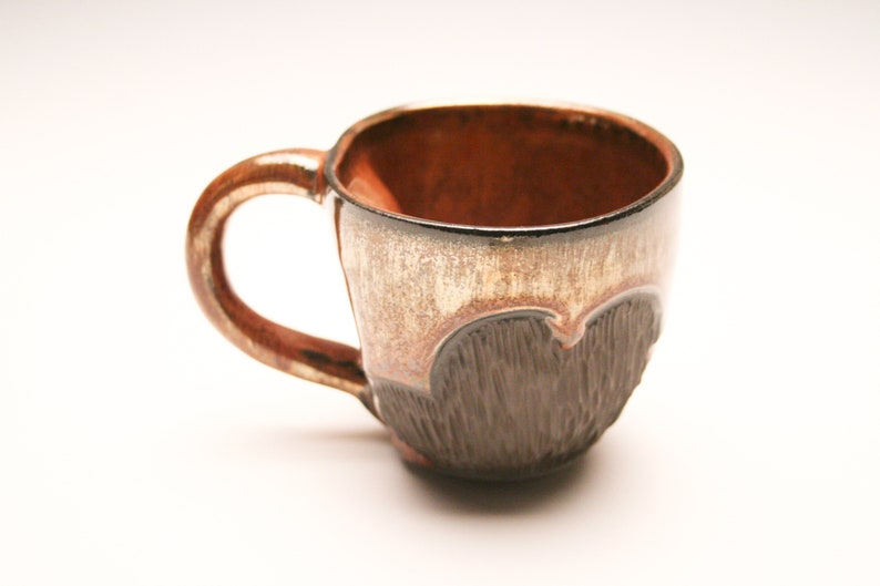 fd8567c370e Copper Ceramic Mug- Coffee Mug- Coffee/Tea Mug- Rustic Farmhouse Pottery-  Unique Kitchen Decor- Coffee Bar- Organic Pottery-Gift for Him
