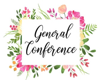 General Conference Note Taking Pages - April 2018