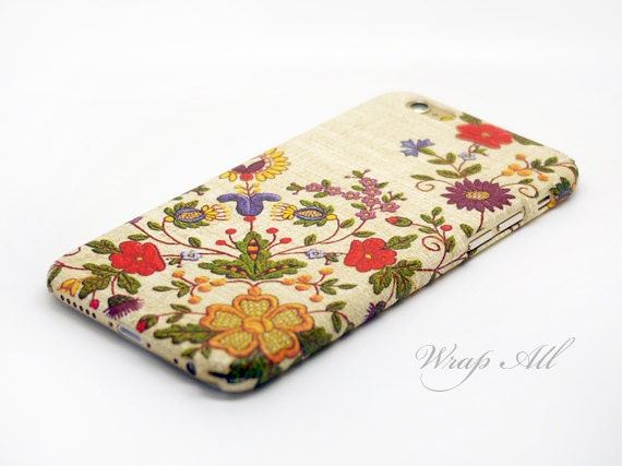 Items similar to Floral Embroidery Print iPhone SE case iPhone 6S case iPhone 6 case iPhone 6S Plus case iPhone 6 Plus case on Etsy