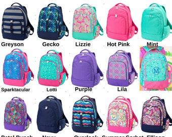 Girls pink unicorn canvas bag school nursery holiday day trip backpack rucksack