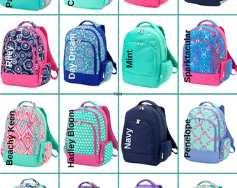 2ec9574bdddb Girls Backpacks - Monogrammed Backpacks - Back To School - Personalized  Backpacks
