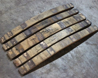 Bourbon Barrel Stave Etsy