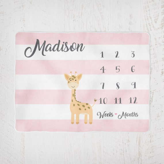 Ages 0 Months **FREE DELIVE GIRAFFE LABEL LABEL SOFT COMFORTER TAG BLANKIE