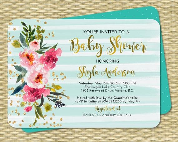 Neutral Pink Invitation