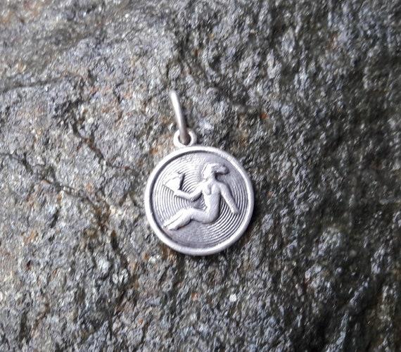 FREE SHIPPING David Andersen vintage zodiac sterling silver 925S Leo charm Norwegian