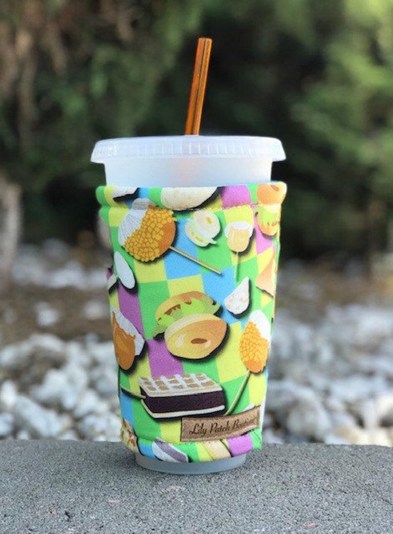 Fair Food Coffee Cozy Iced Coffee Cozy Cup Cozy Drink image 0