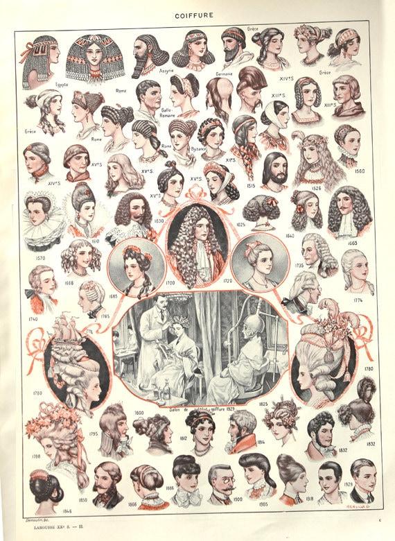 Herren frisuren poster
