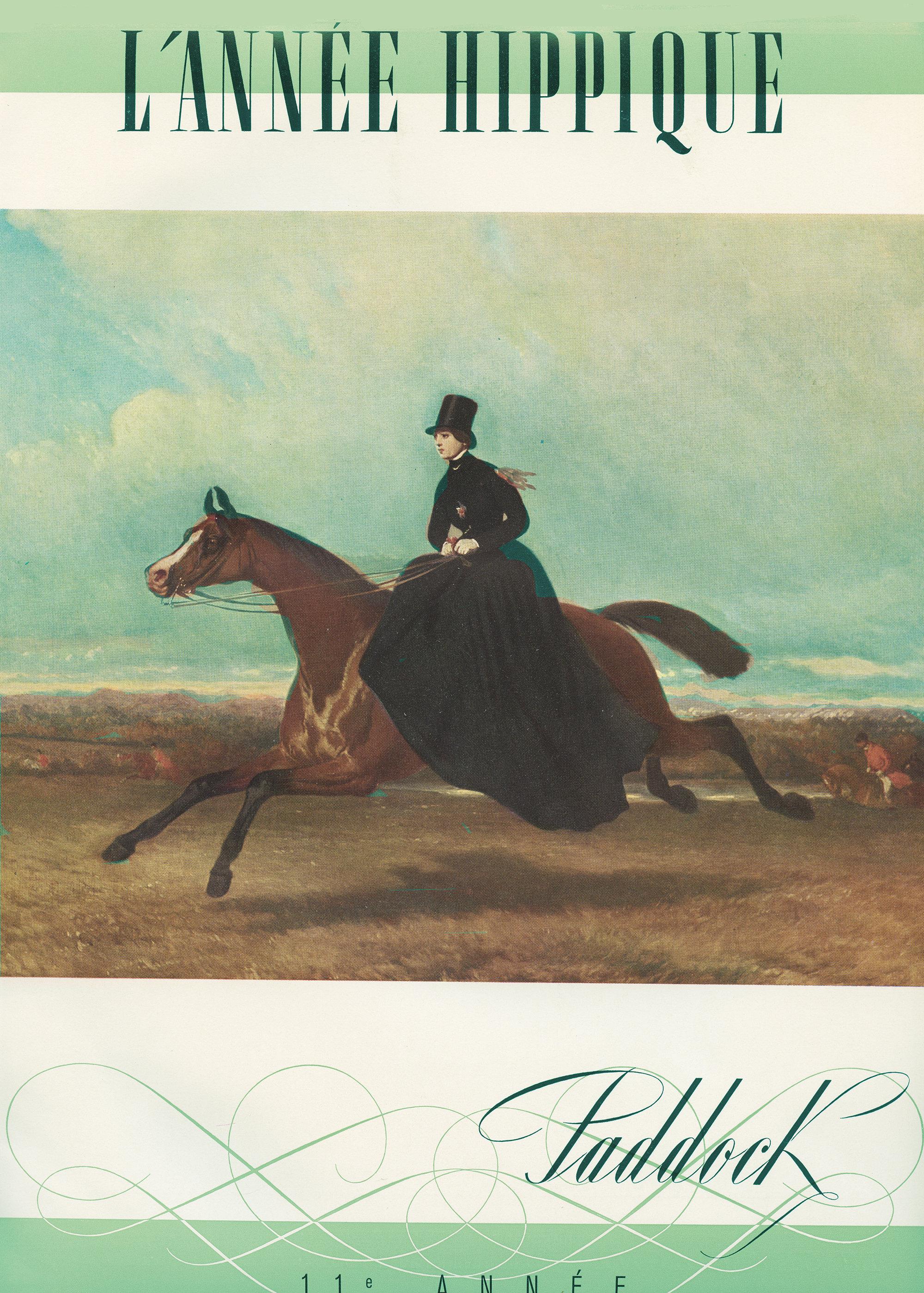 /'Hippique/' RED HORSE Elegant Ladies Riding Show Jacket