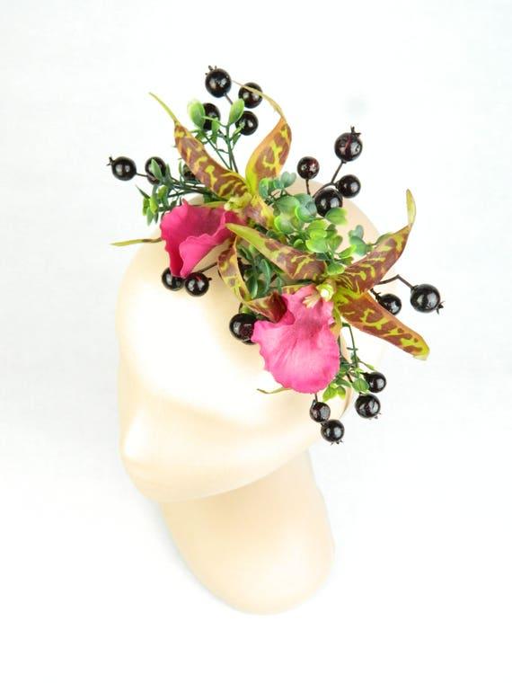 fleur couronne boho guirlande parure de mariage dans les. Black Bedroom Furniture Sets. Home Design Ideas
