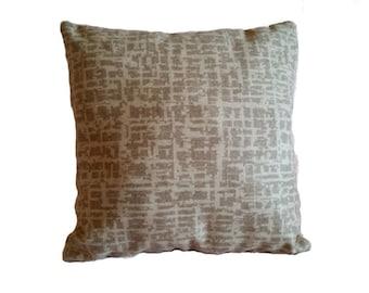 3 Nobilis Grain De Cafe Silver Cream Pillow Covers Three B4