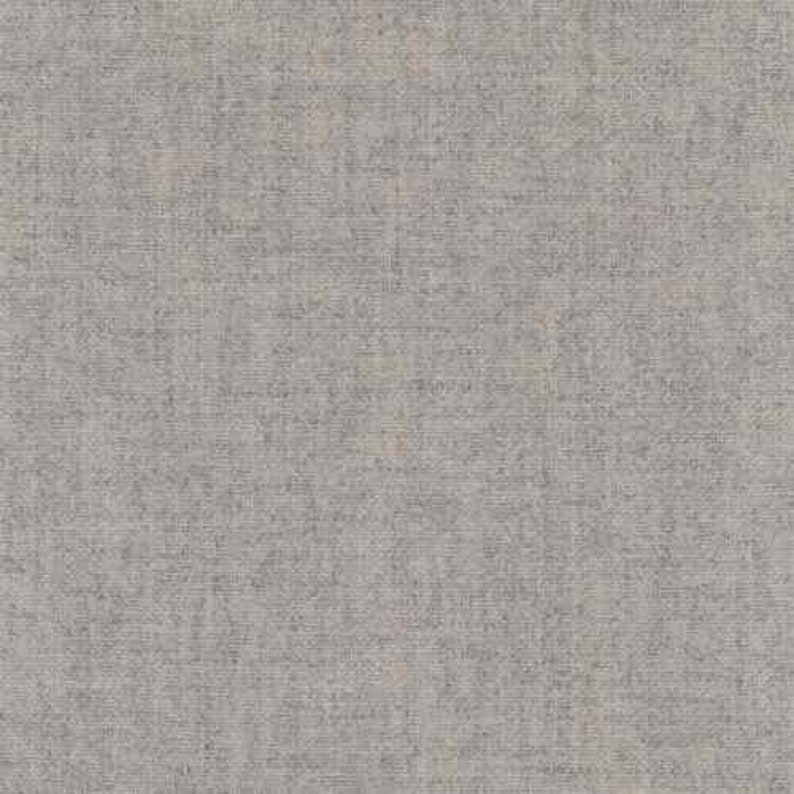 40.5 x 55 Maharam Kvadrat Tonica 111 Gray Woven Wool Upholstery Fabric 460850-111