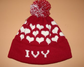 Personalized Hat  - Ivy , Madeline