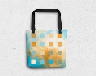 """Jellyfish Pixel Tote Bag - 15""""x15"""""""