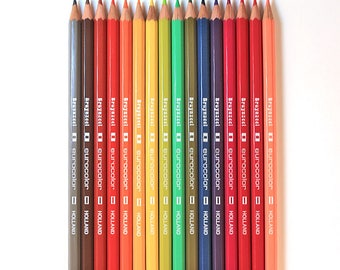 New Bruynzeel Eurocolor Colored Pencils set of 16 different colors