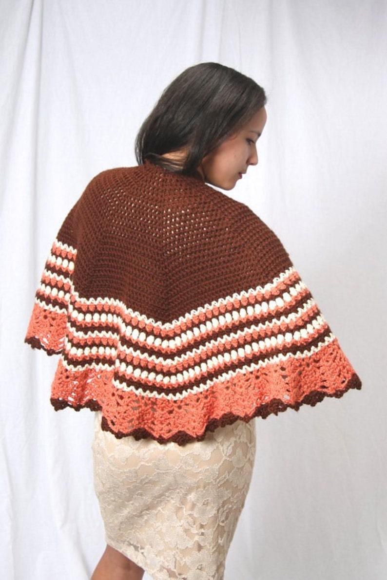 7c5ba529d1b Prêt à expédier châle au crochet poncho au crochet | Etsy