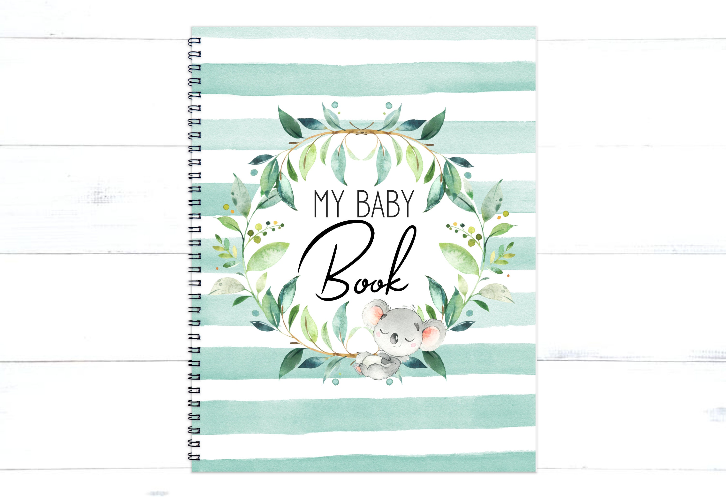Baby Book Baby Journal New Baby Gift Baby Boy Shower Etsy