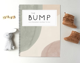 Pregnancy Journal, Pregnancy Planner, Pregnancy Diary, Baby book, Pregnancy Gift, Pregnancy Book, Pregnancy Book, Boho Nursery, MG54