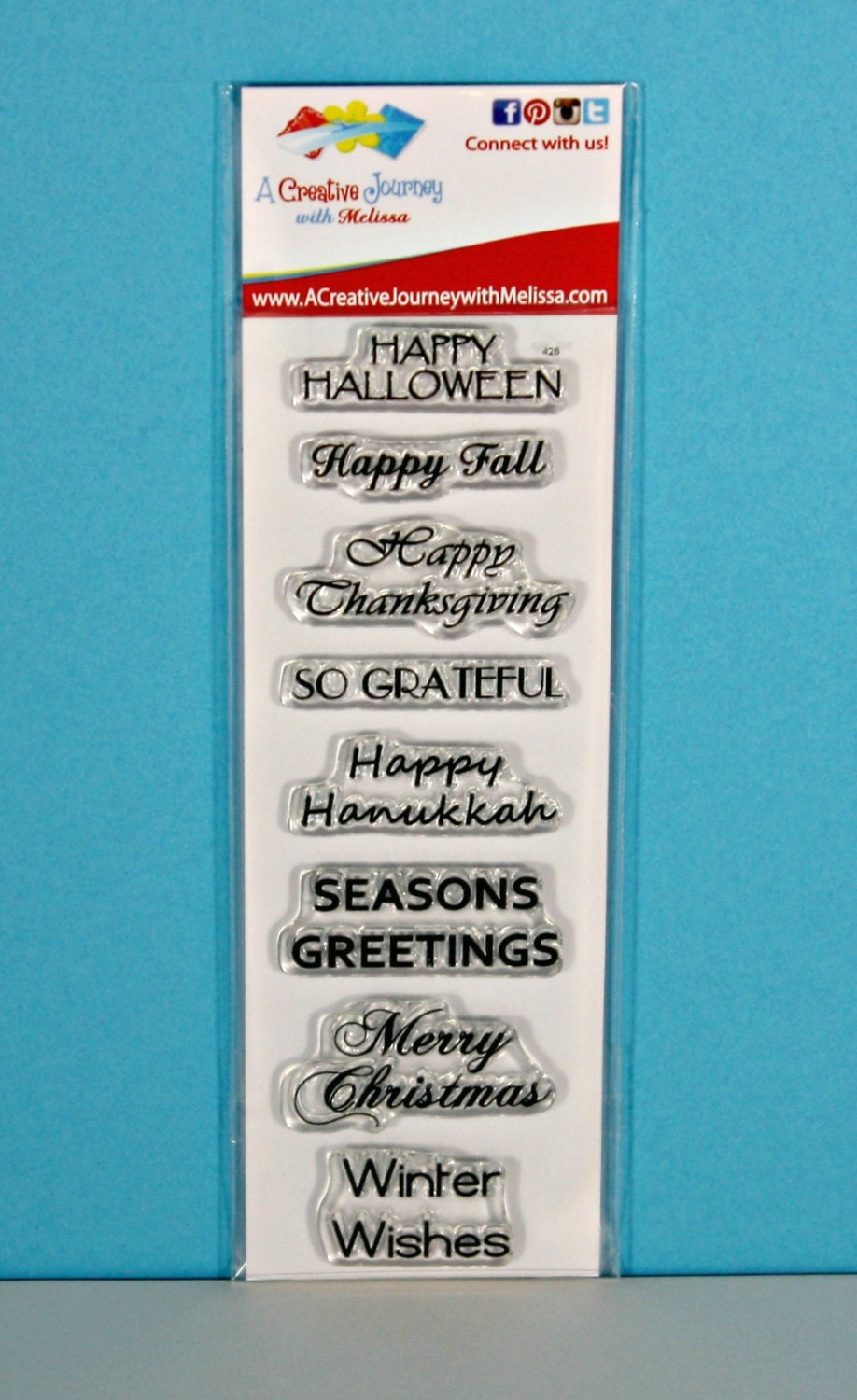 Fall And Winter Holiday Sentiments Phrases Sayings Winter Etsy