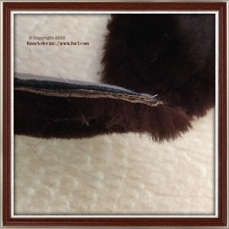 Genuine Mouton Sheepskin Fur Insoles WOMEN size 9 INSULATED
