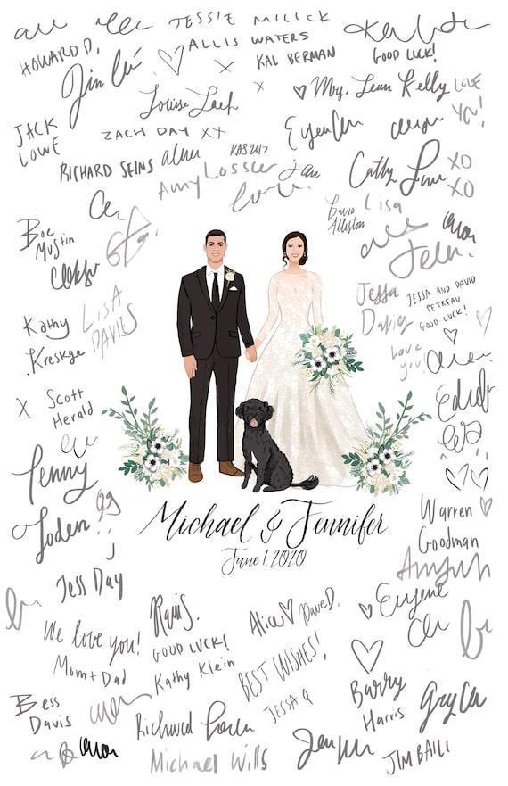 Ready to Hang Alternative Wedding Guest Book London Canvas Skyline Wedding Reception Wedding ideas Guestbook Custom