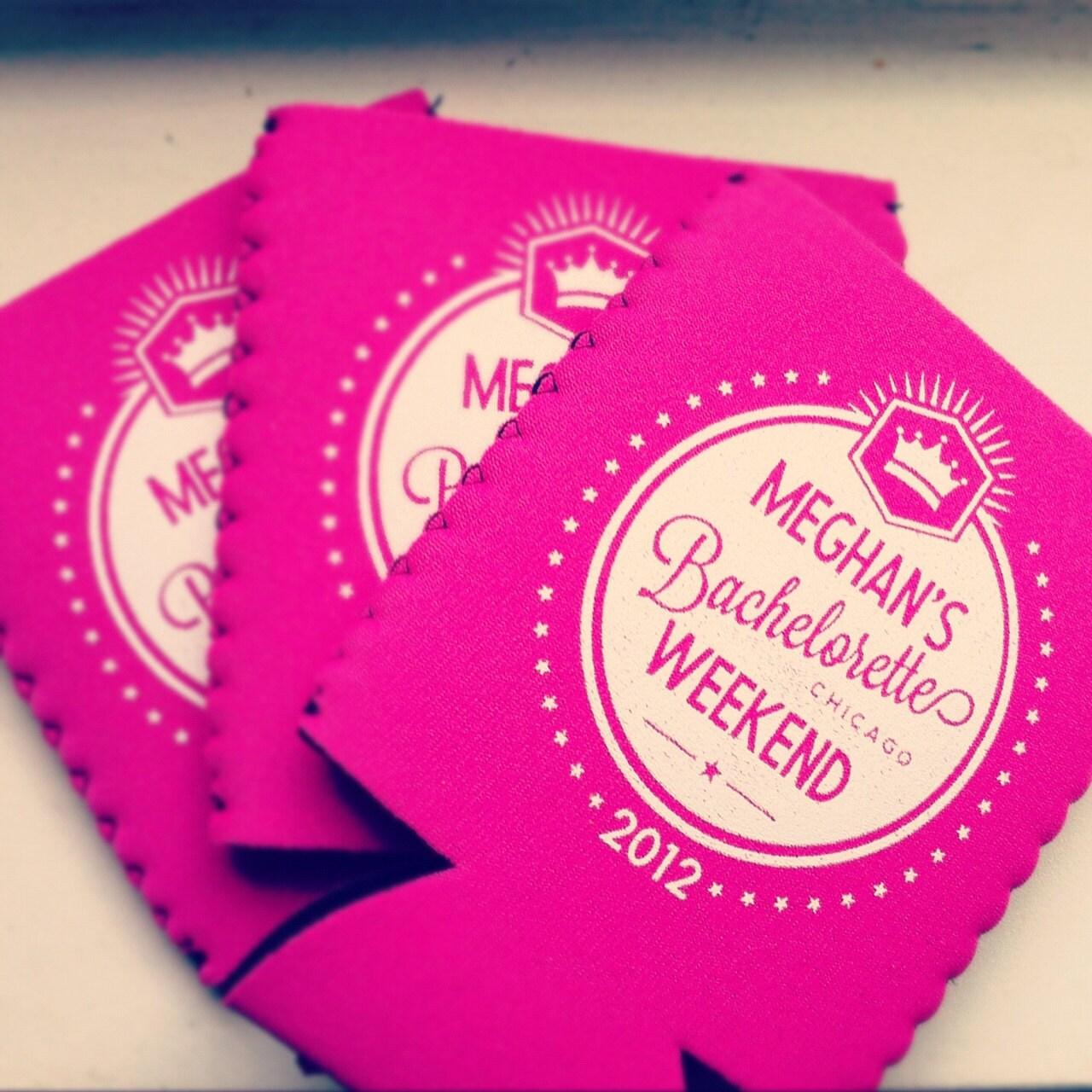 Bachelorette Party can coolers Bachelorette party favors | Etsy