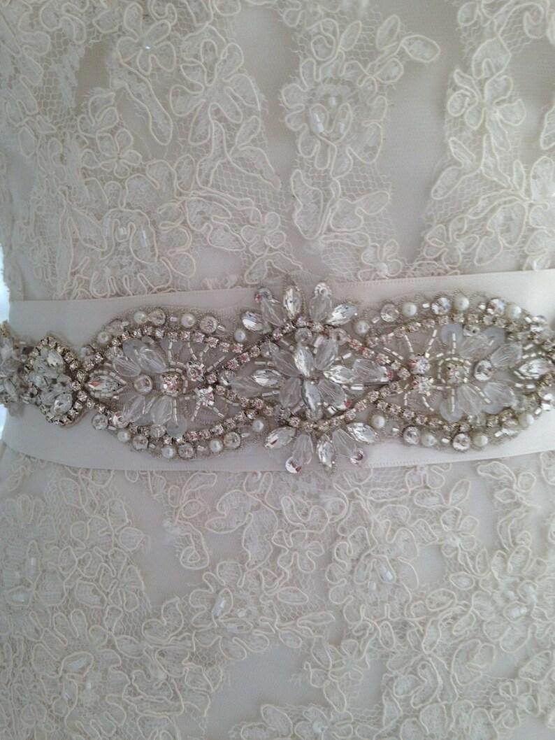 Wedding Sash-Wedding Belt-Bridal Belt-Bridal Sash-Cummerbunds-Applique-Rhinestones-blush-Crystal-Ivory Sash-belt-Navy sash