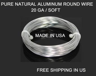 20 Ga / 100 Ft. Aluminum Wire Soft ,99.99% Pure Aluminum