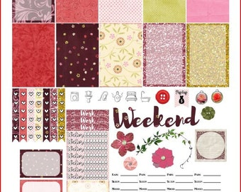 Springdipity Printable Stickers for The Happy Planner