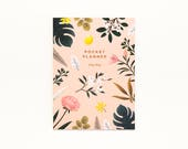 Botanical Pocket Planner - Pink