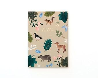 Botanical Pocket Planner - Beige