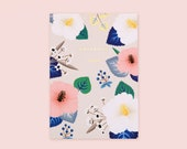Hibiscus Notebook - Ivory