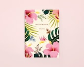Hawaiian Pocket Notebook - Cream