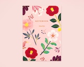 Garden Bloom Notebook - Blush