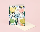 Tulip With Love Card