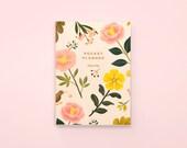 Garden Bloom Pocket Planner - Cream